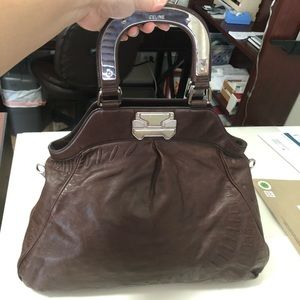 Authentic Celine leather bag